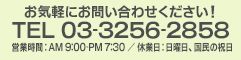 TEL 03-3256-2858